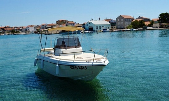 Deck Boat Rental In Betina - Murter