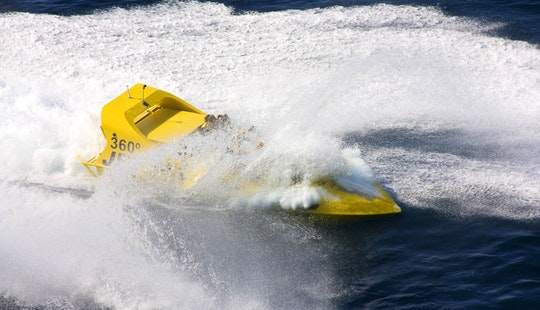Jet Boat In Sant Antoni De Portmany