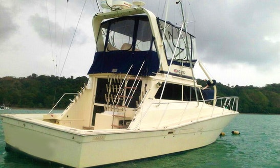 Sport Fishing Charter In Costa Rica With Captain Chris On 46' Viking Sport Fisherman