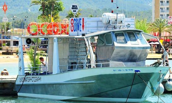 Deck Boat Rental In Sant Antoni De Portmany
