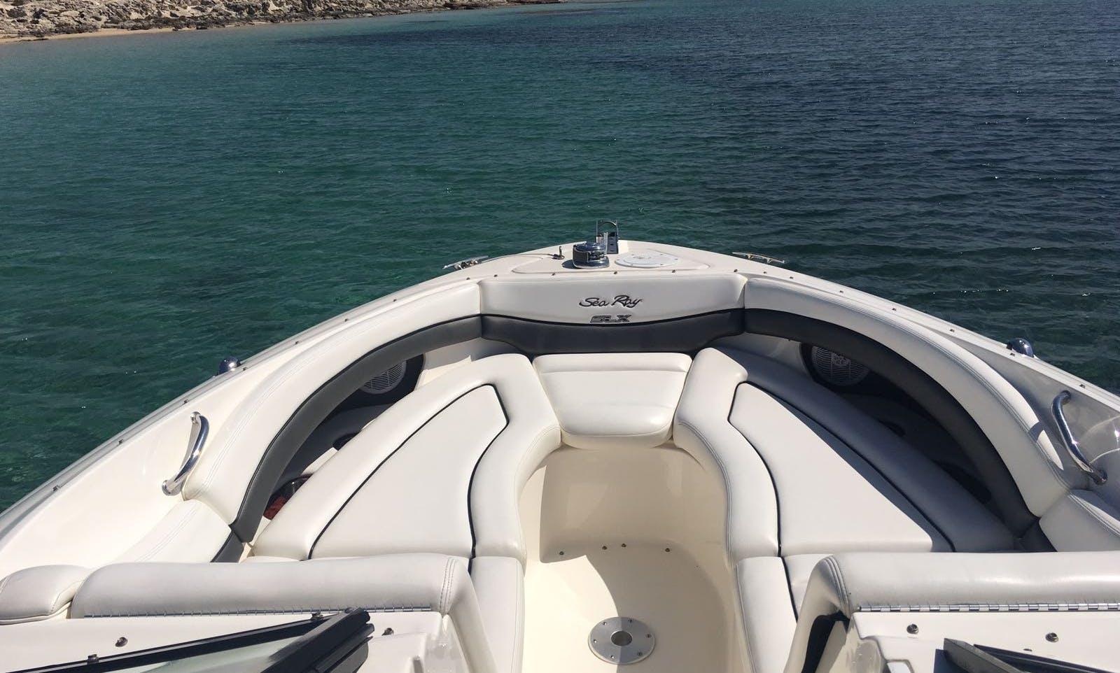 Sea Ray 290 SLX bowrider rental in Eivissa