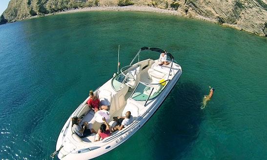 Monterey 278 Ss Bowrider Rental In Eivissa