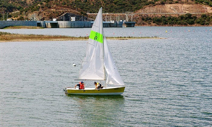 Charter 17' Daysailer in Moura, Portugal