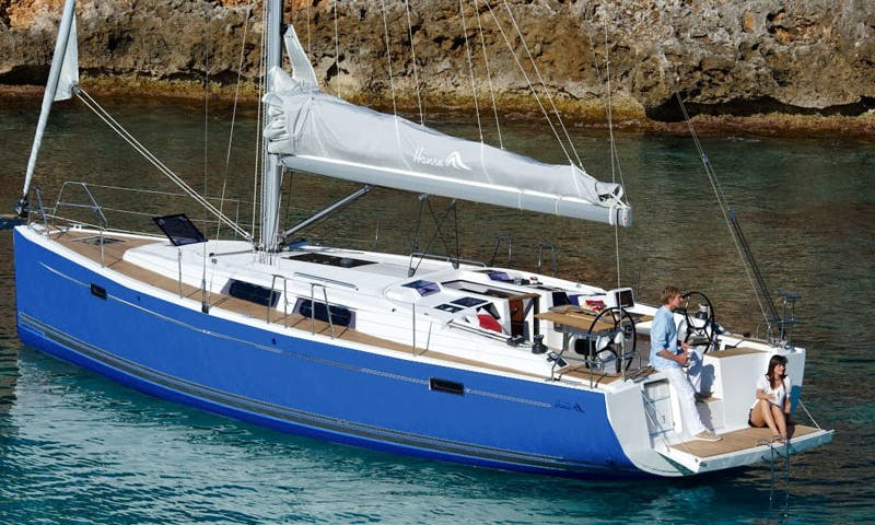 Sailing Daily Cruise with HANSE 385 in  Kavala and Thassos