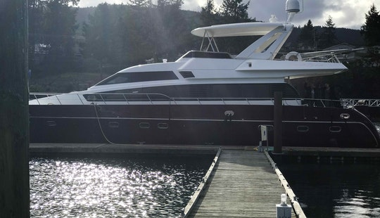 Luxury 66' Italian Yacht Charter In Seattle - Book Now For Opening Day, 4th Of July & Summer Cruising