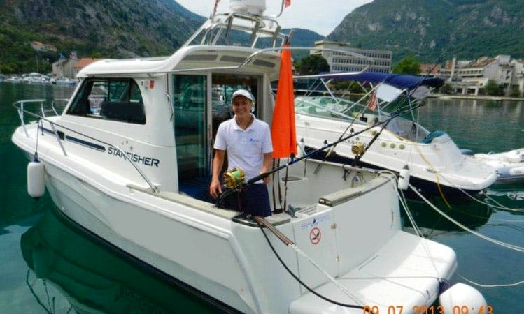 Captained Fishing Charters in Kotor, Montenegro