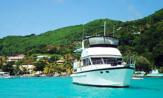 Charter 42' Whistle Wind Motor Yacht In Port Of Spain, Trinidad And Tobago