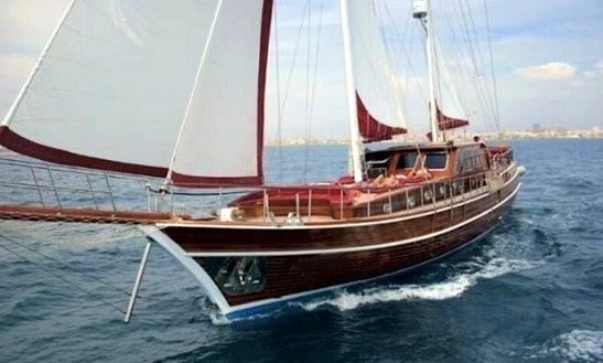 Crewed Charter On 80ft Turkish Gulet In Ibiza, Spain