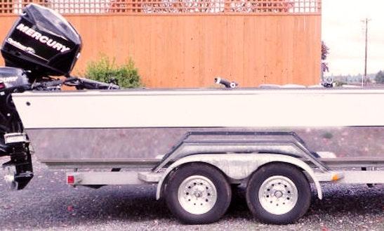 25' Bass Boat Fishing Charters In Beaverton, Oregon