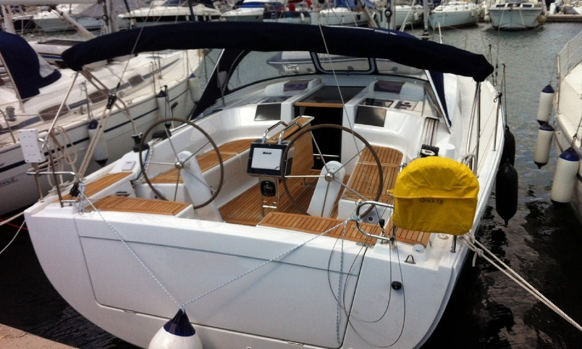 Hanse 415 for Sailing Charter from Pomer