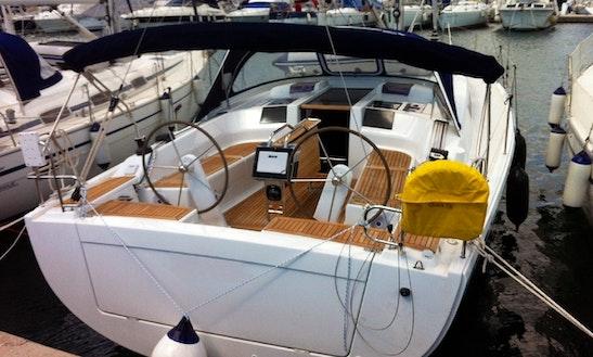 12 Meter Hanse 415 For Charter From Pomer