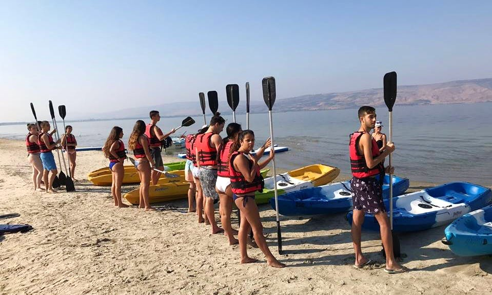 Enjoy Kayak Rentals in Ein Gev, Israel