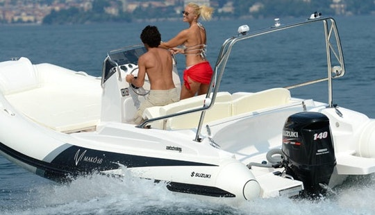 Zar 68 Mako For Rent With Licence Or Our Captain In Port Pollenca