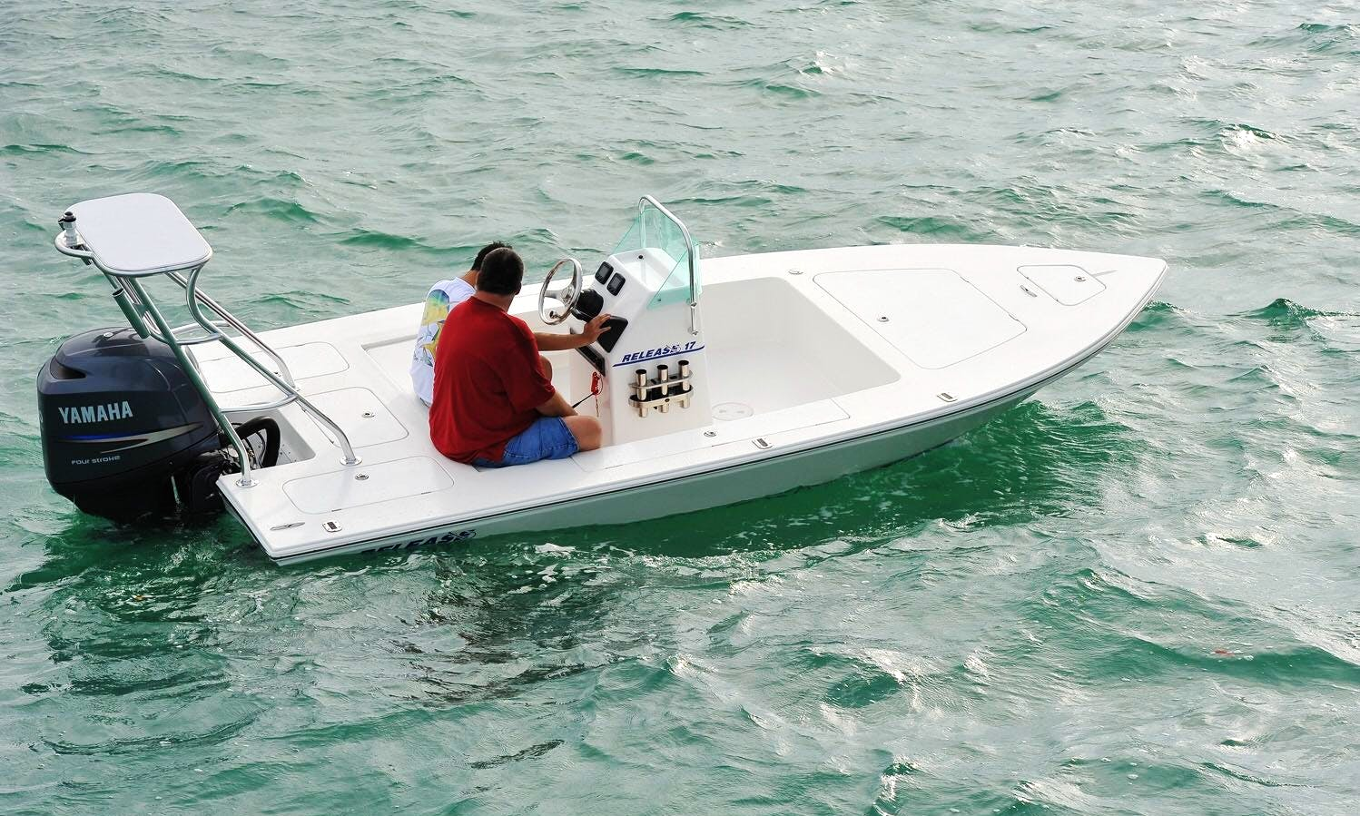 Rent a Skiff Boat in Nassau, The Bahamas for 3 People on your next fishing adventure