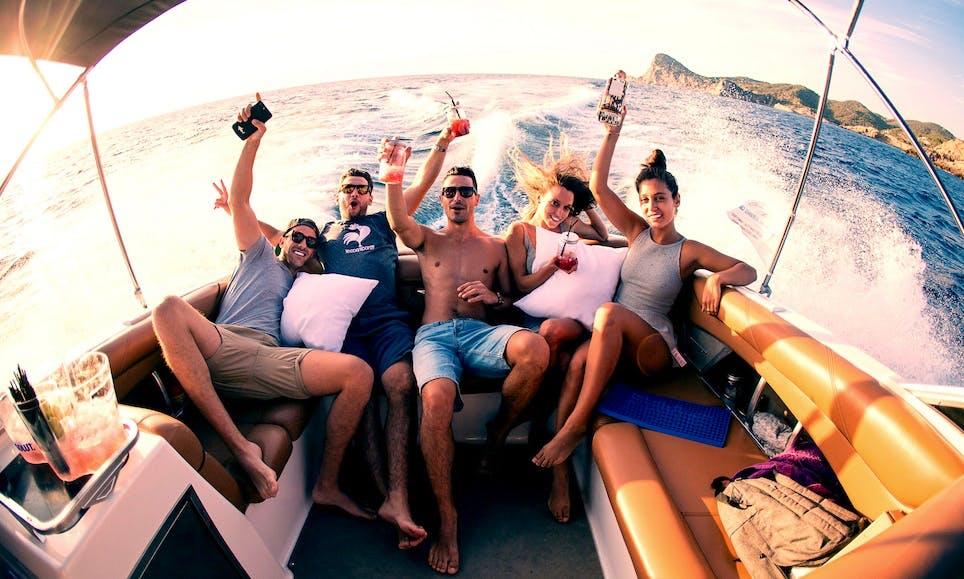 Mambo Sunset Cruise with Mastercraft X55S