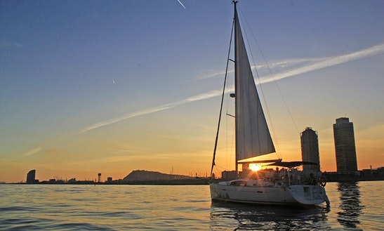 Enjoy Private Sunset Sailing On 40ft Cruising Monohull In Espigó De Llevant, Spain