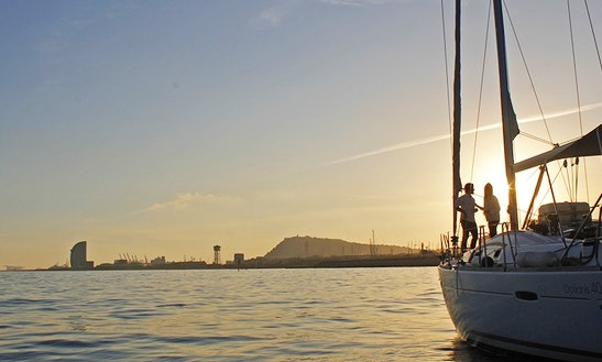 Enjoy Private Sunset Sailing On 40ft Cruising Monohull In Cambrils, Spain