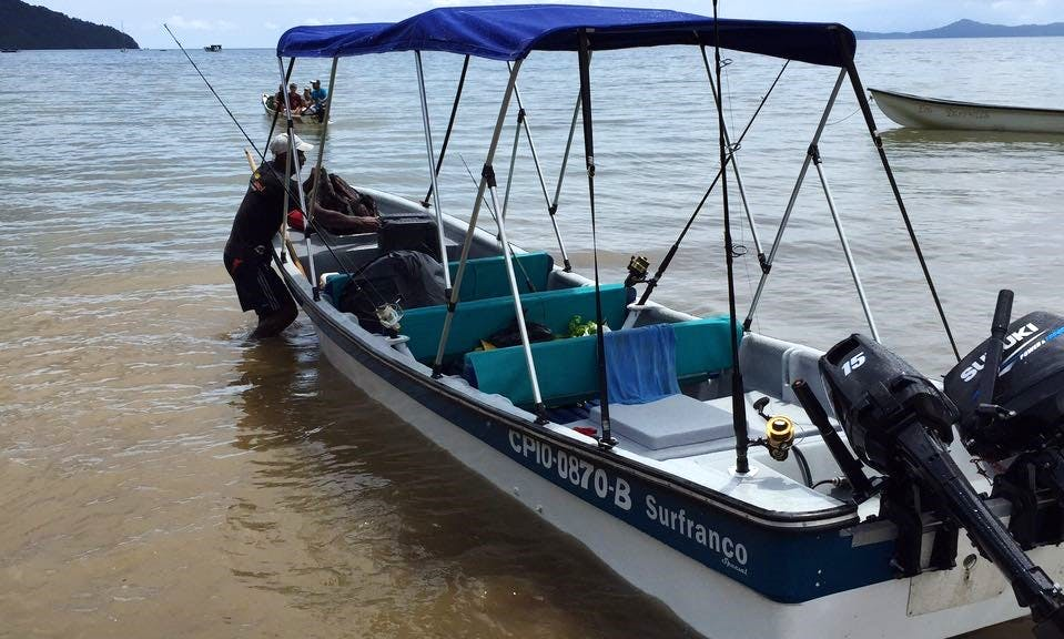 Enjoy Fishing in Bahía solano, Colombia on 22' Dinghy