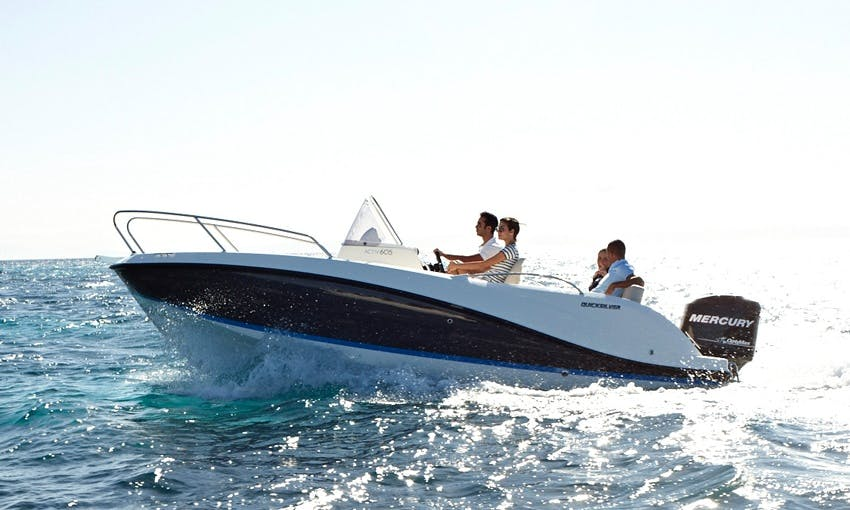 Quicksilver 605 Activ Rent with Licence or our Captain.Port Alcudia