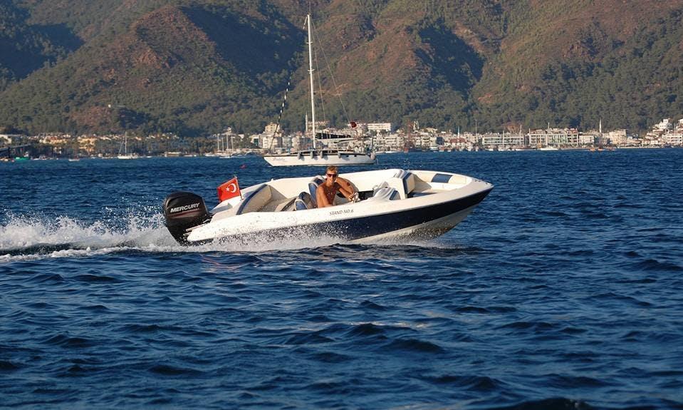 Enjoy a Boat Ride with Your Friends in Muğla, Turkey
