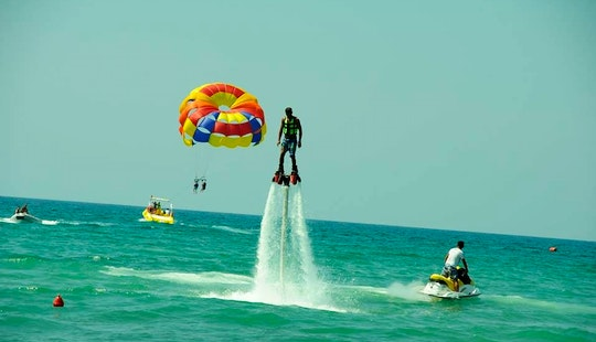 Have Your First Unforgettable Flyboarding Ride With Us!