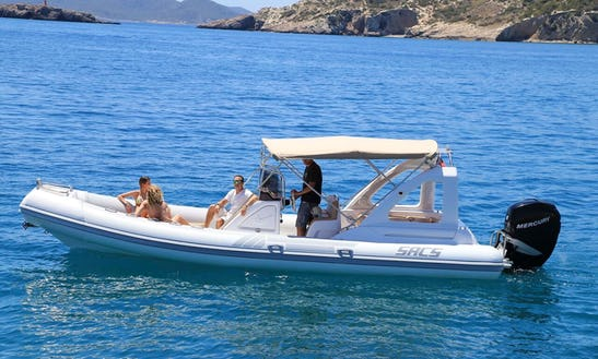 26' Sacs Dream Luxe Rib Rental In Santa Eulària Des Riu, Spain