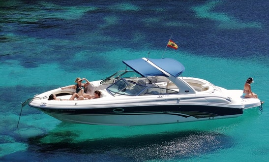 Charter 30' Chakaltaya Sea Ray Br Bowrider In Santa Eulària Des Riu, Spain
