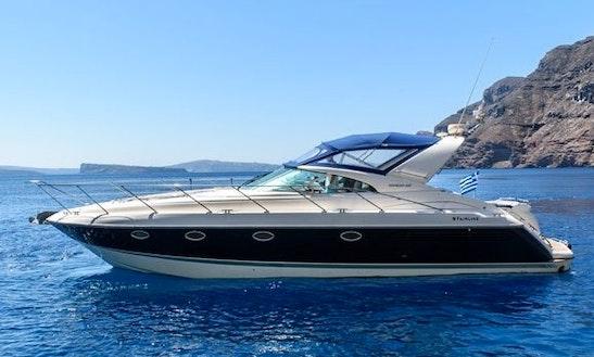 Charter 45' Fairline Targa 43 Motor Yacht In Santorini, Greece