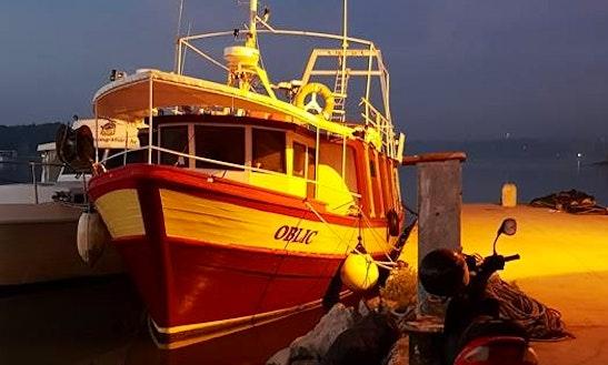 Charter Oblic Trawler In Medulin, Croatia