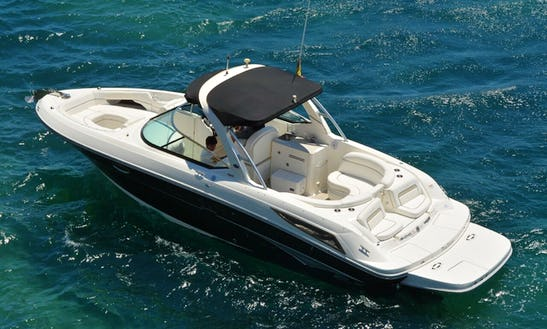 Charter 32' Sea Ray 300 Slx Bowrider In Santa Eulària Des Riu, Spain