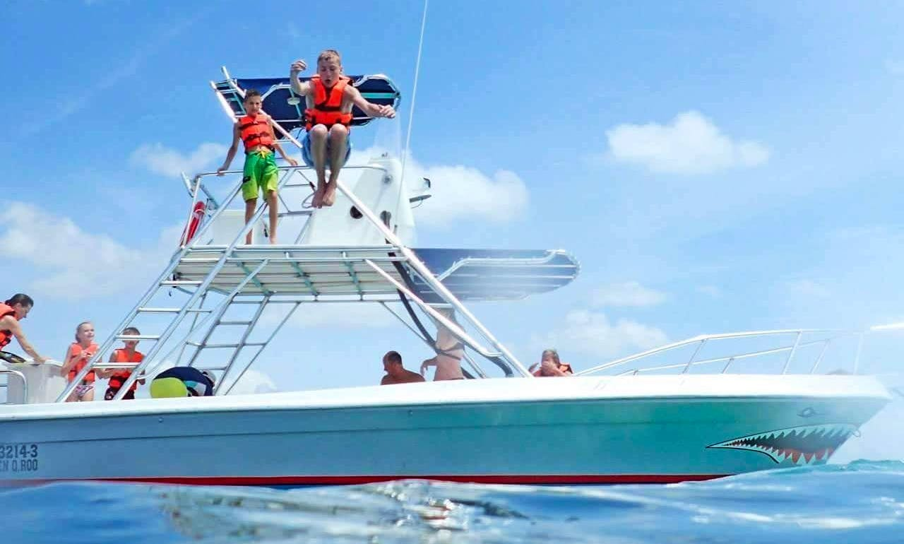 'Moby Dick' Fishing Charter  Snorkeling in Quintana Roo