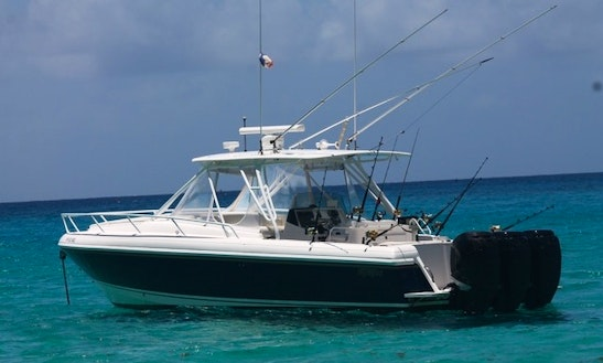 Motor Yacht Fishing Charter In Gustavia