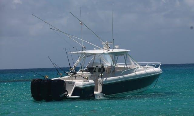Motor Yacht fishing charter in Gustavia