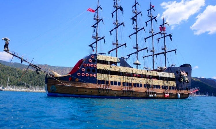 Barbossa Pirate Boat Trips in Turkey