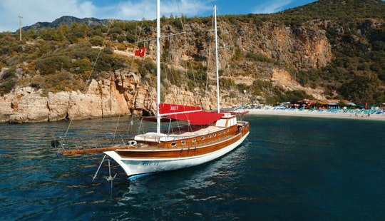 Charter 69' Naos 1 Gulet In Antalya, Turkey