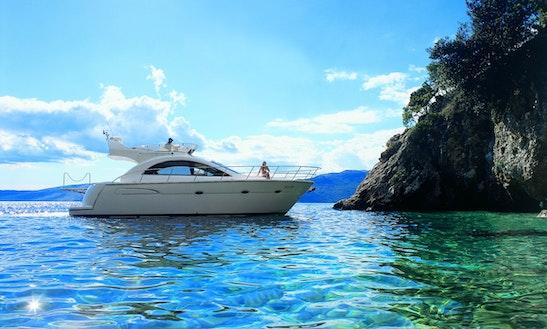 Motor Yacht Charter - Pearlsea 40 Fly - In Baška Voda, Split, Dalmatia
