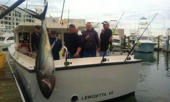 46' Sportfishing Charter In Lottsburg