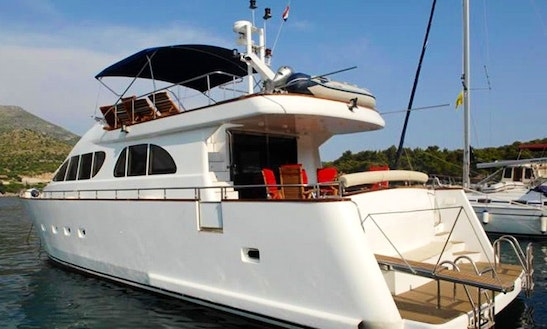 An Amazing Charter Experience On 66' Power Mega Yacht In Dubrovnik, Croatia