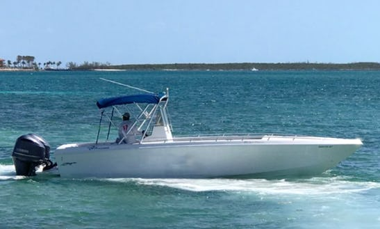 Center Console Rental In Exuma, Bahamas For Up To 12 Person