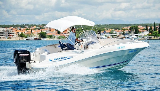 Rent A Quicksilver 635 Center Console In Kožino, Croatia