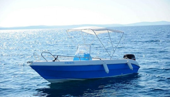 Rent 19' Tiburon 180 Sundecka Center Console In Kožino, Croatia