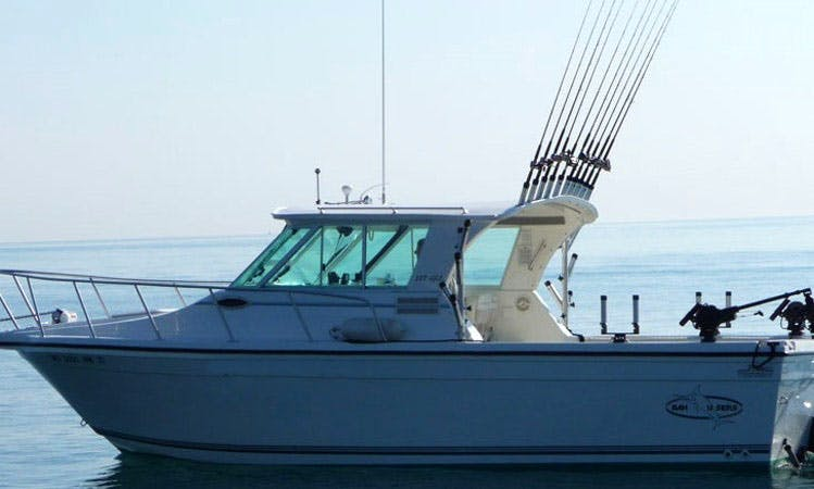 27' Sport Fisherman Charter in Milwaukee, Wisconsin