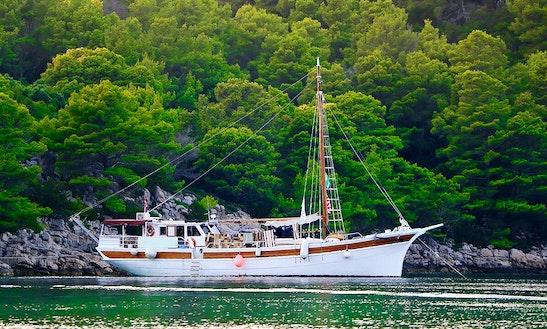 Charter 88' Dolin Gulet In Zadar, Croatia