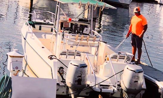 Enjoy Fishing On 27' Sea Cat Catamaran Boat In Panama City, Florida