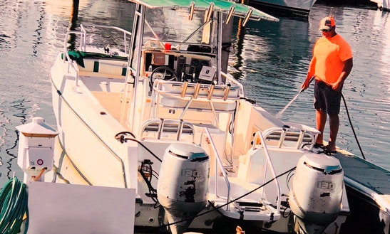 Enjoy Fishing On 27' Sea Cat Catamaran Boat In Panama City, Florida