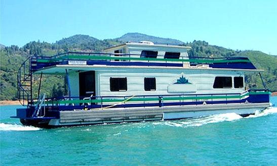 Grand Sierra Ex Houseboat Shasta Lake, Redding Ca