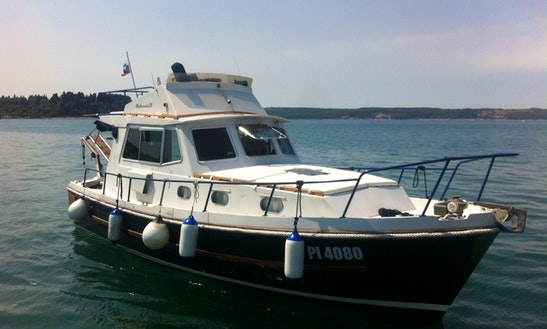 Deck Boat Sleep Aboard Rental In Portorož