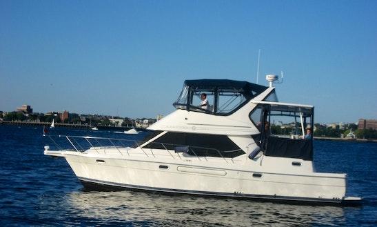Motor Yacht Rental In Boston