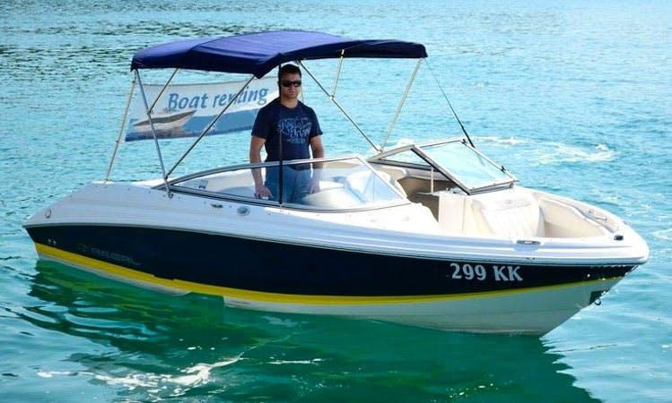 Rent 21' Regal 2000 Bowrider in Krk, Croatia