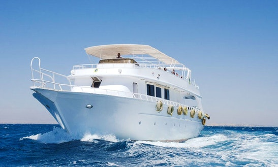 Charter 88' Peter & Pavel Power Mega Yacht In Red Sea Governorate, Egypt